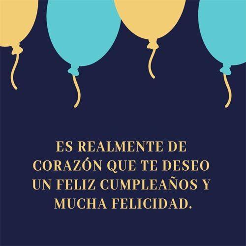 Saludos De Cumpleaños Corazon