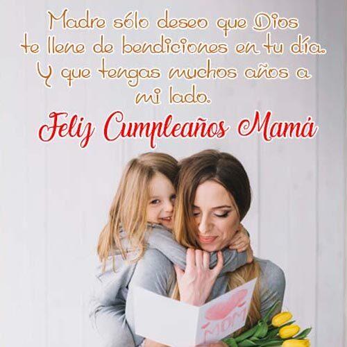 Tarjetas De Cumpleaños Para Mama felicidades