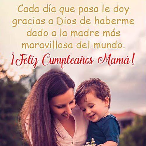 Tarjetas De Cumpleaños Para Mama maravillosa
