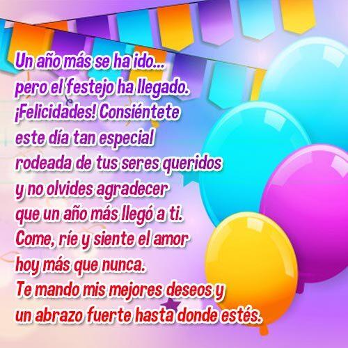 Tarjetas De Cumpleaños Para Mujeres Feliz